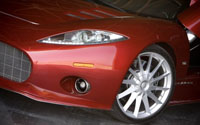Spyker C8 Aileron Driver Side Front Fender View