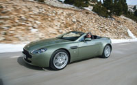 Aston Martin V8 Vantage Roadster Three Quater View