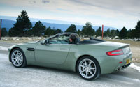Aston Martin V8 Vantage Roadster Left Side View