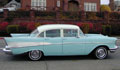 1957 CHEVROLET BEL AIR 4 DOOR POST