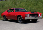 1971 CHEVROLET CHEVELLE SS 2-DOOR COUPE