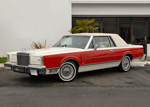 1982 Lincoln Continental Mark VI Coupe Bill Blass Edition