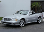 2002 Mercedes-Benz 500SL Silver Arrow Roadster