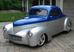1941 Willys Americar Custom Coupe