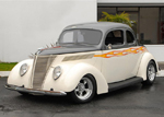 1937 FORD CUSTOM 2 DOOR COUPE