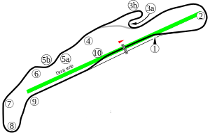 Track Day Map