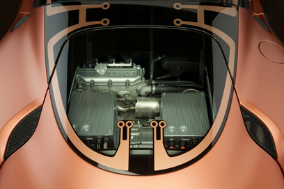 Lotus Evora 414E Hybrid Engine Photo