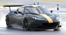 Lotus Cosworth Evora Passenger Side Front Quarter Photo