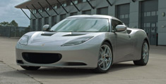 Lotus Evora Performance Car of The Year Drivers Side Front Quarter Photo