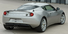 Lotus Evora Performance Car of The Year Passenger Side Rear Quarter Photo