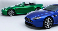 Aston Martin V8 Vantage S Convertible and Coupe