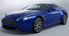 Aston Martin V8 Vantage S Drivers Side Front Quarter View