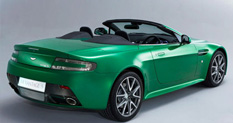 Aston Martin V8 Vantage S Passenger Side Rear Quarter View